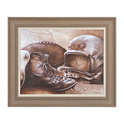 Vintage Football Framed Art Print