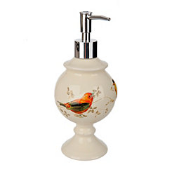 Painted Birds Soap Pump