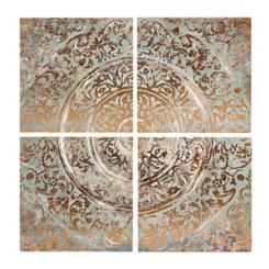 Ancient Tiles Canvas Art Prints, Set of 4