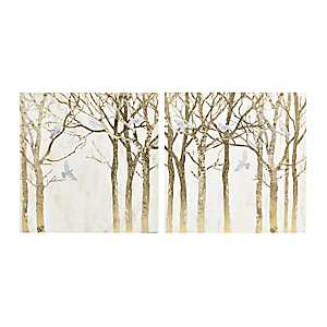 Autumn Branches Canvas Art Prints, Set of 2