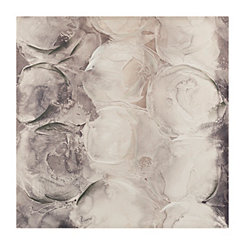 Monochrome Abstract Canvas Art Print