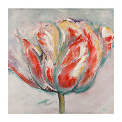 Vibrant Tulip Canvas Art Print