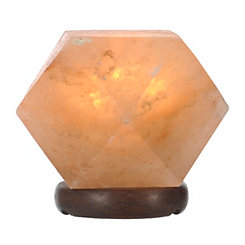 Himalayan Salt Rock Polygon Lamp