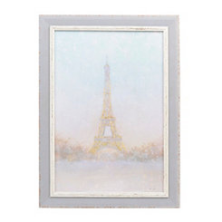Morning Eiffel Tower Framed Art Print