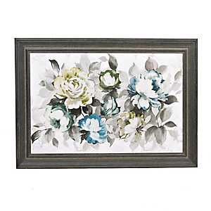 Focus on Blooms Framed Art Print