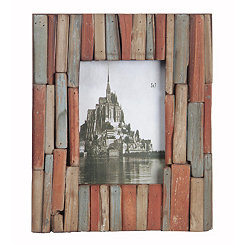 Distressed Plank Picture Frame, 5x7