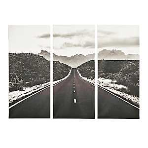 Open Road Canvas Art Prints, Set of 3