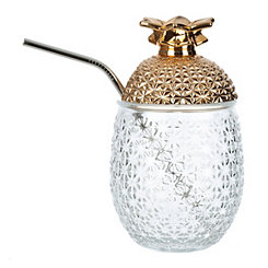Cellini Gold Pineapple Tumbler