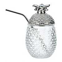 Cellini Silver Pineapple Tumbler