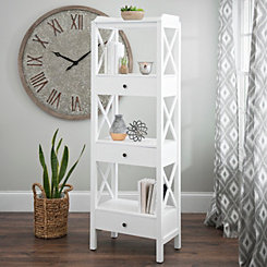 Addison Cream 4-Tier Shelf
