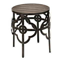 Natalie Quatrefoil Accent Table