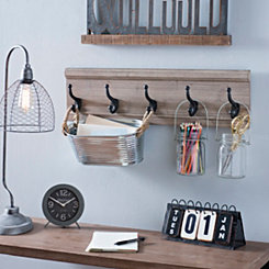 Pine Wood Wall Hook