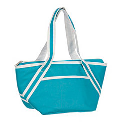 Bright Blue Insulated Lunch Tote