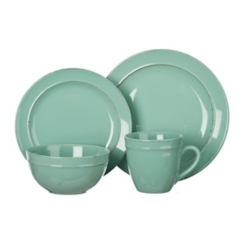 Seafoam Olivia 16-pc. Dinnerware Set