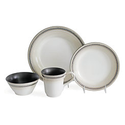 Sand Bellpoint 16-pc. Dinnerware Set