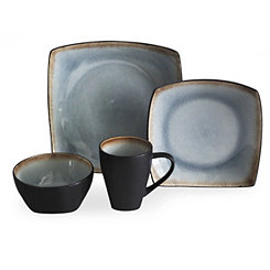 Blue Meadow 16-pc. Dinnerware Set