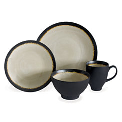Sand Galaxy 16-pc. Dinnerware Set