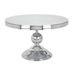 Polished Aluminum Coffee Table