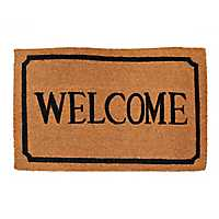 Ornate Rimmed Welcome Mat