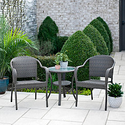 Martinique Wicker Bistro Set