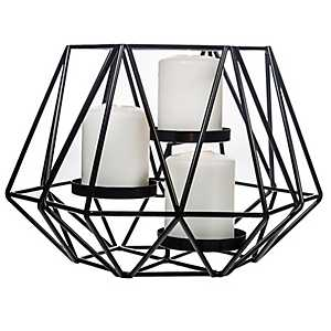 Black Diamond Cage Votive Holder