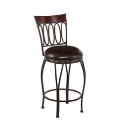 Woodcroft Swivel Counter Stool