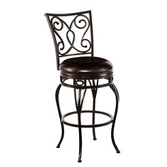 Valois Swivel Bar Stool