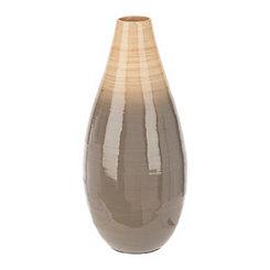 Gray Bamboo Vase