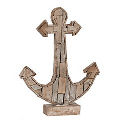 Tan Mosaic Anchor Statue