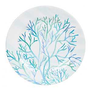 Blue Coral Salad Plate