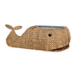 Whale Water Hyacinth Ice Bucket