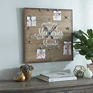 Memories By The Minute Wall Clock
