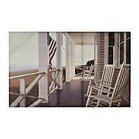 American Porch Canvas Art Print