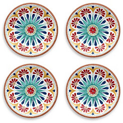 Rio Medallion Salad Plates, Set of 4