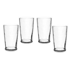 Cordoba Clear Tumblers, Set of 4