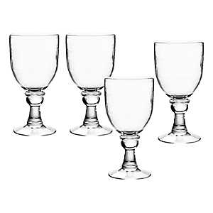Cordoba Clear Goblets, Set of 4