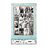 Weathered Blue Farmhouse Collage Frame