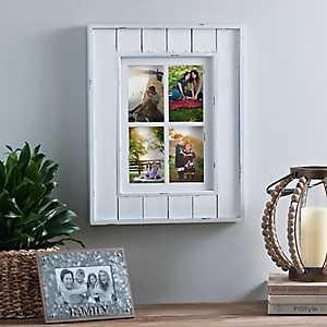 Shiplap Windowpane Collage Frame