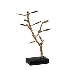 Gold Branch Jewelry Holder