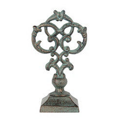 Green Scroll Finial