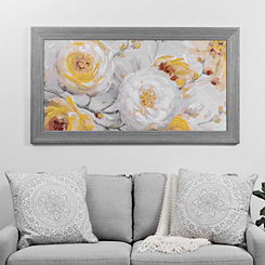 Sunshine Blooms Framed Canvas Art Print
