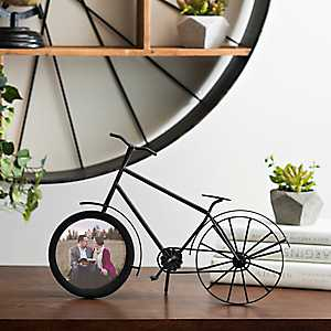 Metal Bicycle Picture Frame