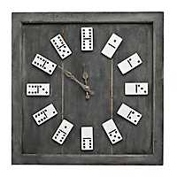 Domino Numeral Wall Clock