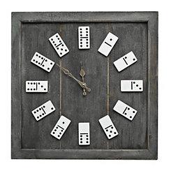 Domino Numeral Wall Clock