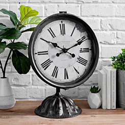 Industrial Tabletop Clock