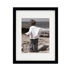 Tribeca Matte Black Picture Frame, 11x14