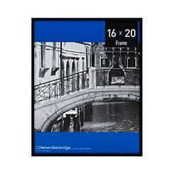 Matte Black Aluminum Picture Frame, 16x20