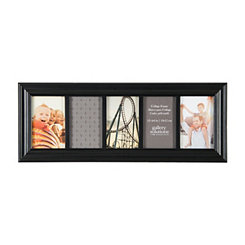 Black Linear Collage Frame