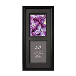 Black Airfloat Mat Black Picture Frame, 8x19