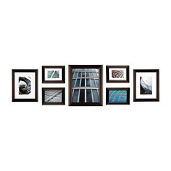 Walnut 7-pc. Snapshot Gallery Picture Frame Set